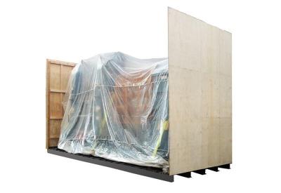 鐵底機械木箱