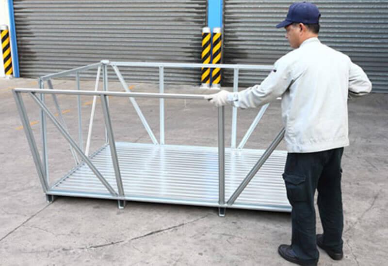 卡扣式鐵條箱組裝製造商