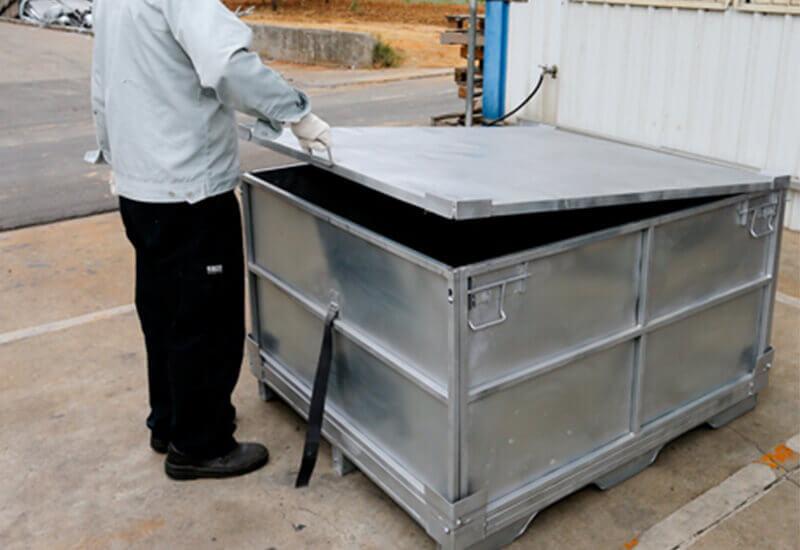 回收式把手鐵密箱