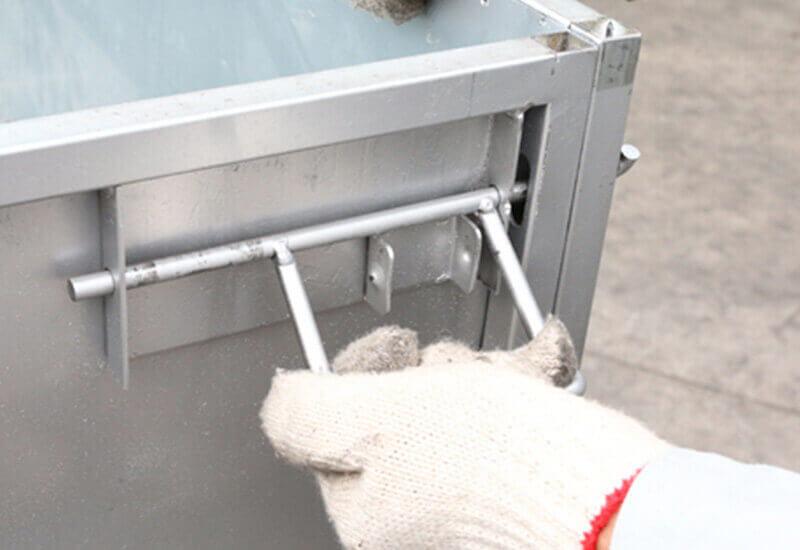 回收式把手鐵箱
