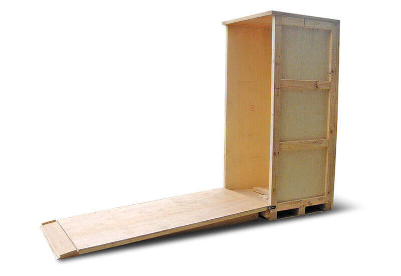 螺栓式木箱